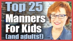 🔥 Top 25 Manners for Kids, Toddlers, and Adults! 🔥 | Colleen Hammond