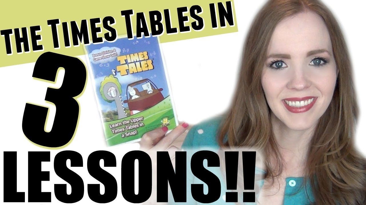TEACH YOUR CHILD TIMES TABLES FAST & EASY!   My 7 Year Old Learned the Times Tables in 3 Lessons!