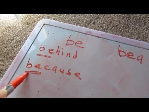 How To Teach Your Child To READ And SPELL Vlog #191