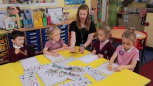 Jolly Phonics at Tudor Primary School