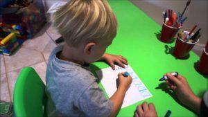 The basics for teaching a preschooler to write