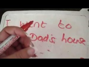 How to teach young children to write words and sentences, inc letter formation