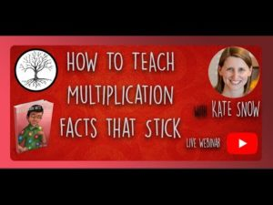 How to Teach Multiplication Facts That Stick