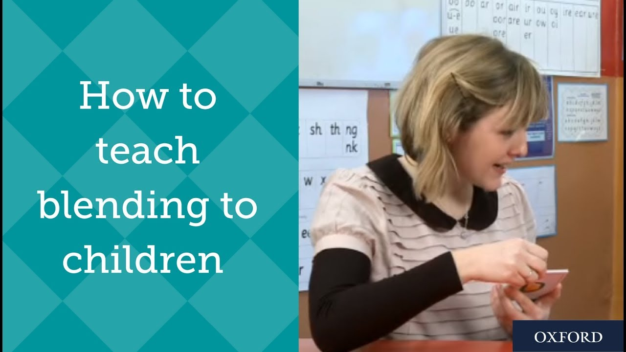 How to teach blending to children – Phonics tutoring with Ruth Miskin