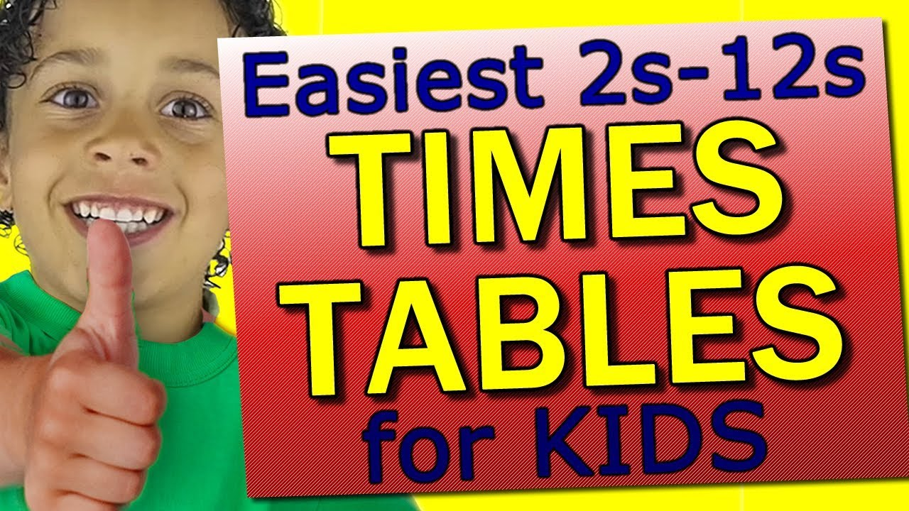 Times Tables for Kids: Fast, Easy and FUN! 2 to 12 Times Tables