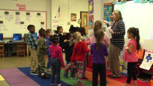 TPSD Kindergarten, Phonics First, Lesson 16 Level 1