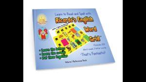 Teach Children to Read & Spell using Ricardo's NEW Phonics-based English Word Grid