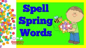 Learn to Spell Spring Words | Learn English | #kindergarten #toddlers