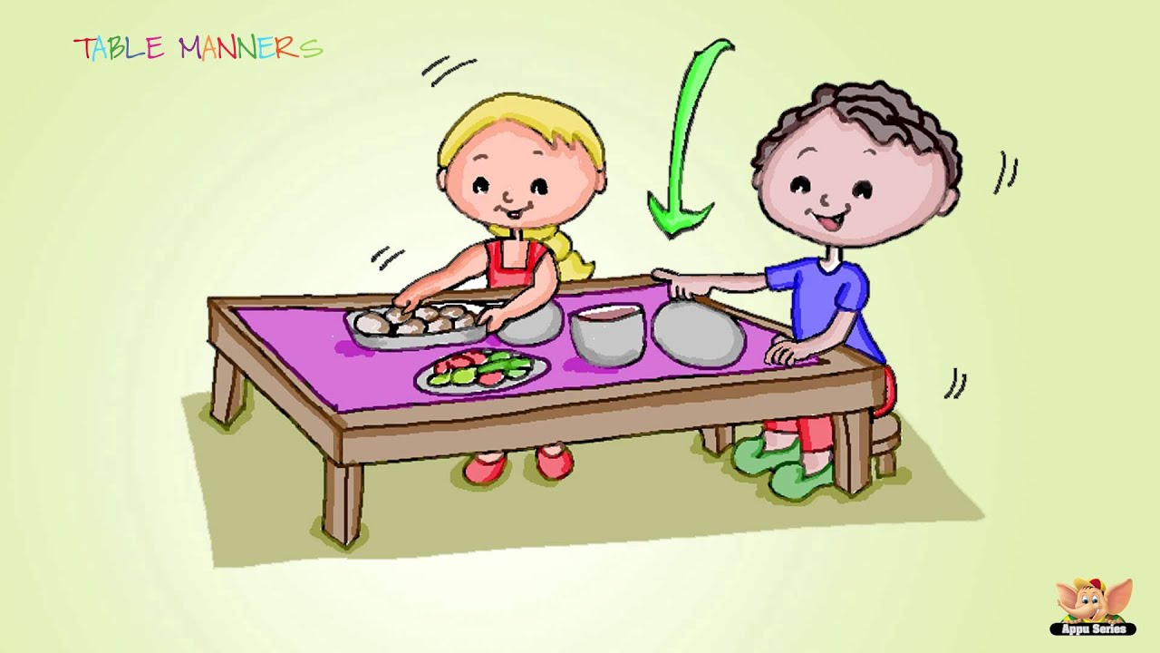 Family Education Series – Learn Table Manners
