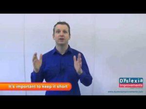 How To Teach Dyslexic Children to Write & Spell: Dyslexia Improvements
