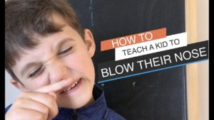 How to Teach a Kid to Blow Their Nose | Dr. Steve Silvestro & The Child Repair Guide