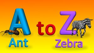 A to Z Alphabets With Spellings For Children | How To Spell Words | 3D Alphabet Songs