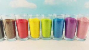 Learn How to Spell Colors Colorful Sugar Spelling Kids Babies Children Toddlers Educational Count